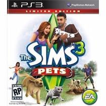 Jogo Ps3 The Sims 3 Pets Original Lacrado