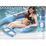 Boia Inflável Flutuante Pool Lounge Piscina Poltrona Colchão