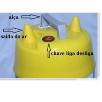 Inflador 2 Bicos 110 V/compressor/balões/bexiga/festa/bomba