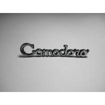 Emblema Comodoro Opala Volante 75/77 Capa Canoa Friso Grade
