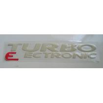 Emblema Resinado Turbo Eletronic Blazer/s10 Mmf Auto Parts.