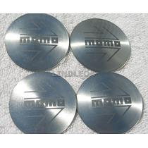 Emblemas Centro Rodas Momo Slv Ferrari Porsche Bmw Vw 50mm