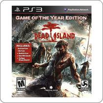 Dead Island Game Of The Year Edition - Ps3 - Novo Lacrado