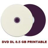 50 Dvd+r Printable Ritek Dual Layer 8.5gb Xgd3 Ritek-s04-066