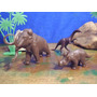 7 Animais Pre Historicos Marxtoys Dinossauros Brinqtoys