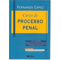 Livro Curso De Processo Penal Fernando Capez