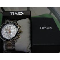 Timex Masculino Em Aço Inoxidável T2n155 Dual-two Tone