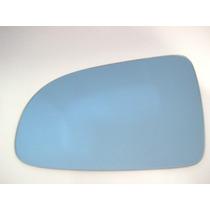 Lente Azul Espelho Retrovisor Peugeot 206/207 Lado Esquerdo