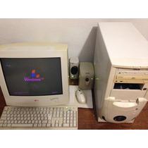 Computador Com Monitor, Pentium4 1,6ghz, 1gb Ram, Windows Xp