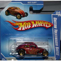 Hot Wheels Custom Vw Beetle Fusca - 121 De 2009 (lacrado)