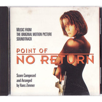 Cd A Assassina - Point Of No Return - Hans Zimmer - Raro