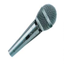 Microfone Csr Pro 44 L Prata C/ Cabo Aquicompras