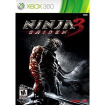Game Xbox360 Ninja Gaiden 3