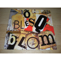 Titãs - Õ Blésq Blom - Vinil 1989 Capa Dupla C/ Encarte
