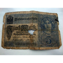 Nota 5 Marcos Alemães - 1917