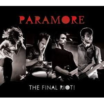 Paramore - The Final Riot! Live From Chicago - Cd + Dvd Novo