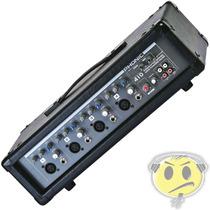 Mixer Amplificado Cabeçote Phonic Powerpod 410t1 - Promoção