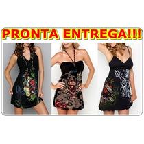 Vestidos Ed Hardy By Christian Audigier - Vários Modelos!!!