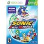 Sonic Free Riders - Jogo Xbox 360 Requer Uso Kinect