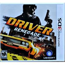 Driver Renegade L A C R A D O Americano Nintendo 3ds