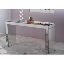 Aparador Espelho Prata Lapidado Clean