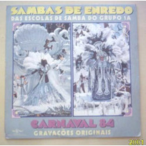 Lp Sambas De Enredo Grupo 1a Carnaval 84 Top Tape 1983