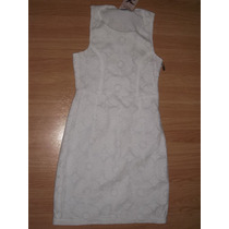 Lindo Vestido Tubinho Branco Naguchi - Tenho Farm, Antix