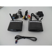 Transmissor De Áudio E Vídeo Sem Fio Com Extensor De Control