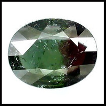 Jfa_joias 48,57cts Turmalina Melancia - Bi Color - Nigeria.