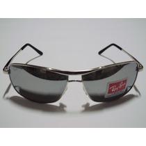Óculos 8013 Prata Espelhado Leilão