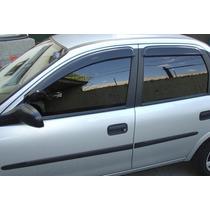 Defletor Calha Chuva Tg Poli Corsa Hatch Classic 4 Portas