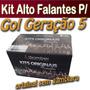 Kit Original Bomber Alto Falantes P/ Gol G5 200 Watts Rms