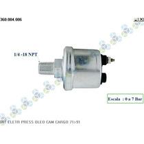 Sensor De Pressão Óleo Ford Del Rey Ghia 1.8 8v 84/92 - Vdo