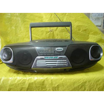 Radio-grav. Portatil Bombox Victor - Rc-xc3 - Cd+fm/am+tf.