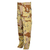 Calça Tática Camuflada Deserto Chocolate - Paintball/airsoft