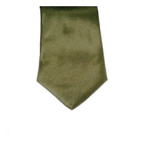 Gravatas Masculinas Cor Verde Musgo - Poliéster