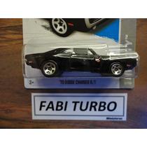 Hot Wheels 2013 - 70 Dodge Charger R/t Velozes E Furiosos