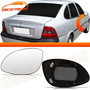 Lente Com Base Retrovisor Vectra 97 98 99 Gls Cd Elétrico