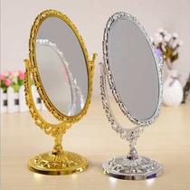 Kit 2 Espelhos De Mesa Para Maquiagem Ou Depilação