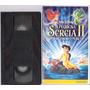 Fita Vhs Walt Disney A Pequena Sereia 2 O Retorno Para O Mar