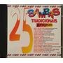 25 Sambas Tradicionais Grupos Cd Usado Vários Artistas 1997
