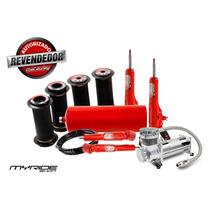 Kit Suspensão Ar 1/2mm Stilo Com Compressor Myrideshop