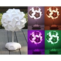 Luminária Oriental Abajur Led Origami