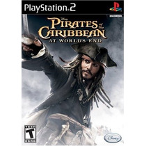 Dvd Ps2 Pirates Of The Caribbean: At World