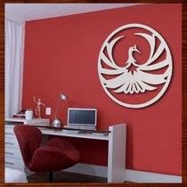 Quadro Decorativo Escultura De Parede Mdf Mandala Fenix