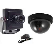 *kit Monitoramento C/ Camera Para Ligar Direto Na Televisão