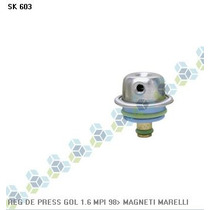 Regulador De Pressão Combustível Gol 1.0 16v 97/... - Schuck