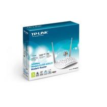 Modem Roteador 300mbps Wireless Adsl2 + Usb Tp Link Td-w8968