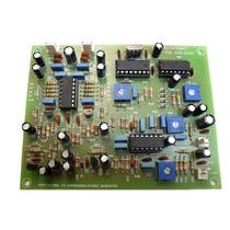 Placa Gerador Stereo Profissional Com Compressor De Audio