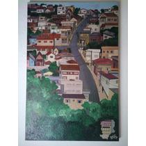 Quadro (pintura Da Casinhas De Caxambú - Mg )